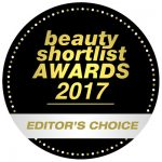 Beauty Shortlist Award, Editors Choice Winner 2017.