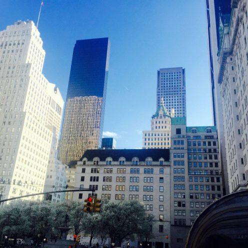 Manhattan from Central Park