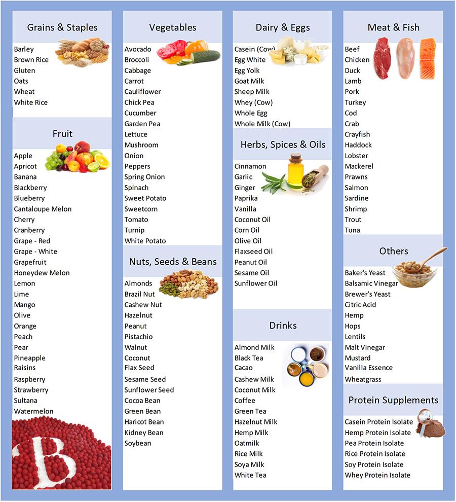 Elimination Diet For Food Intolerances